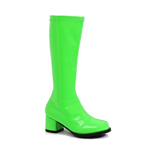 Boots Dora Costumes (Dora Girls Neon Lime Green 1.75