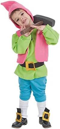 Creaciones Llopis Disfraz de Enanito Verde para niño: Amazon.es ...