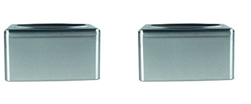 Kimberly-Clark Professional 09924 Kleenex Towel Box Cover for POP-UP Box, Stainless Steel (2 PACK) by Kimberly-Clark Professional