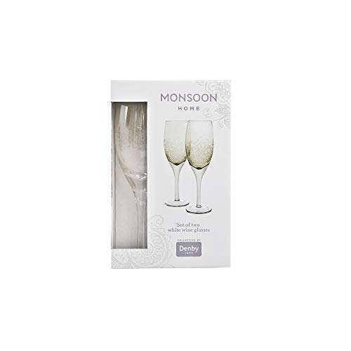 (Denby 401043766 White Wine Glass, 300 milliliters,)