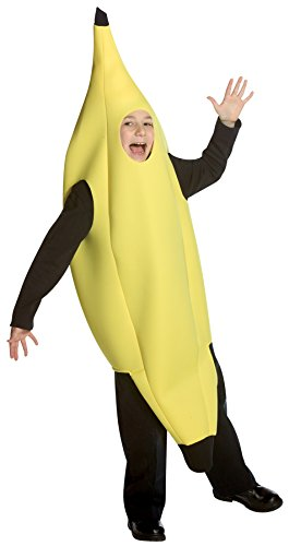 Newborn Banana Costumes (UHC Boy's Banana Outfit Funny Theme Party Fancy Dress Child Halloween Costume, Child M (7-10))