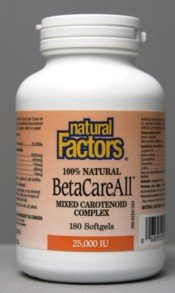 Betacareall (180Capsules) Brand: Natural Factors