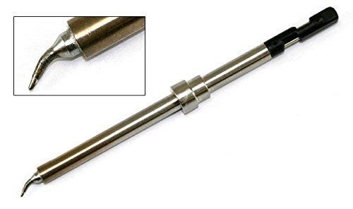 Hakko Solder Tip, Bent, Micro R0.2mm/40x3mmx3mm, FM-2032