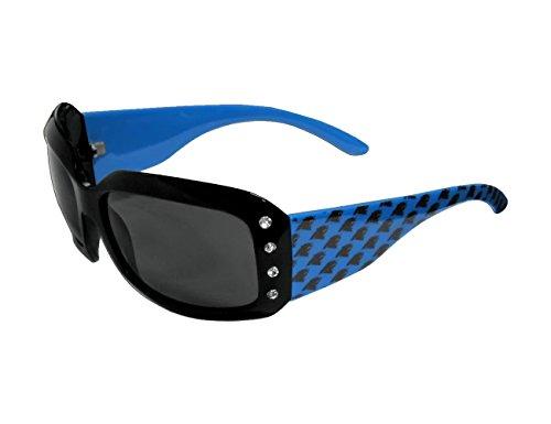 NFL Carolina Panthers Women's Designer Sunglasses Swarovski Crystal Logo Sunglasses