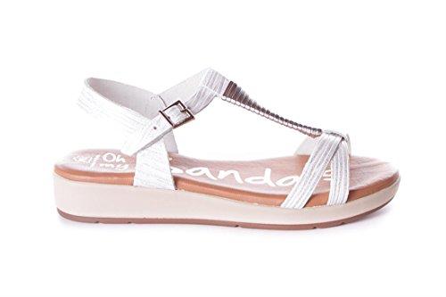 Blanco Plantilla Oh Sandals Gel Sandalia Blanco my 3860 5daw4dn