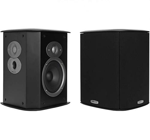 Polk Audio FXI A4 Surround Speakers (Pair, Black)