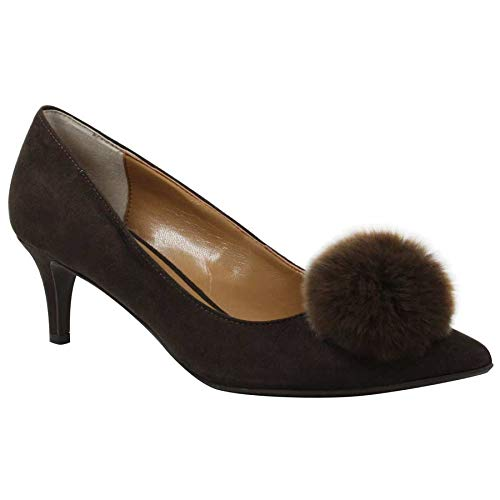 J.Renee Women's Elisabet Pump (Chocolate, 7.5 W US)