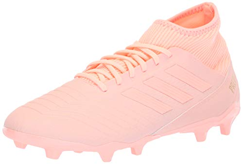 r 18.3 Firm Ground Soccer Shoe Clear Orange/Trace Pink, 10 M US ()