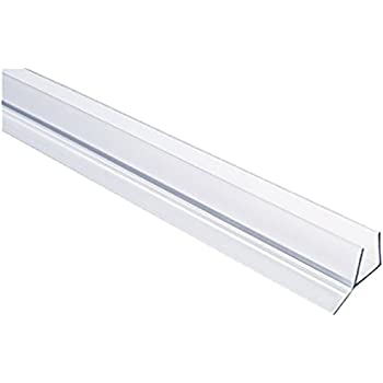 Clear Tapered Shower Door Bottom Seal And Sweep Quot T Quot Type