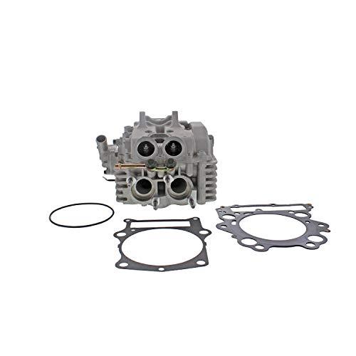 (Cast Aluminum Cylinder Head Kit with Spark Plug for 2004-2007 Yamaha Rhino 660)