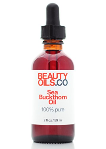 Sea Buckthorn Berry Oil 100% Pure Virgin Cold Pressed Vegan (2 fl oz) Dry Skin Anti Aging and Acne Treatment (Best Way To Cure Jaundice)