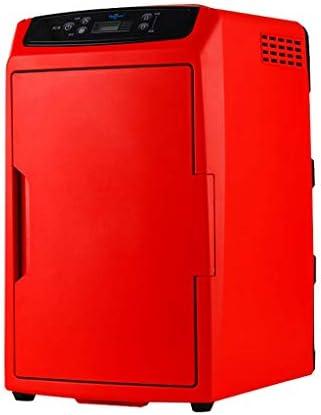 省エネ電気冷却ボックスミニポータブルコンパクトパーソナル冷蔵庫、冷暖房、12リットル容量、フロンフリーの環境に優しい、自動車および家庭用コンバーターとストラップを含む