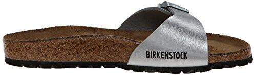 BirkenstockMadrid Birko-Flor - Mules Mujer plata