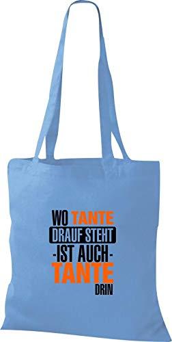 Azul Bolso De Asas Sho09814 Claro Mujer Para Shirtstown nBwOa781qn