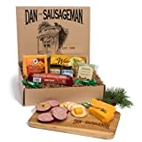 Dan the Sausageman's Yukon Gourmet Gift Basket -Featuring Dan's Original Sausage,100% Wisconsin Cheese, and Dan's Sweet Hot Mustard