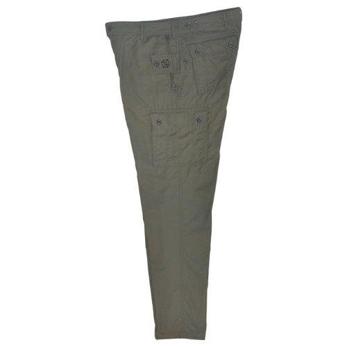 P-Cubed Grey Pick Pocket Proof Multipocket Travel Pants