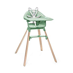 STOKKE® Clikk™ High Chair – Adjustable Grow-Along Chair for Children with Tray and Safety Harness – Suitable from 6…
