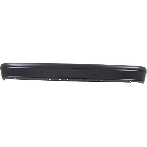 Bumper compatible with Ford Econoline Van 92-14 Rear Bumper Black ()