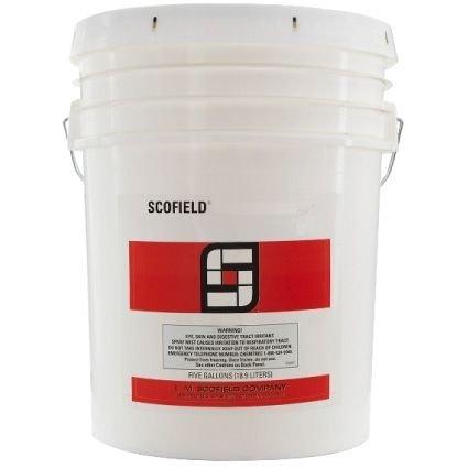 L.M. Scofield LITHOCHROME Concrete Color Hardener - 60 Lb Bag - (Ash White) 60 Lb Bag Concrete