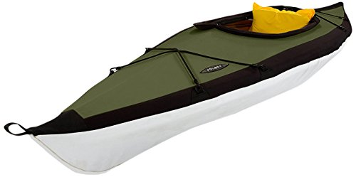 Folbot Recreational Citibot Foldable and Portable Kayak, Orange/Gray, 10-Feet x 34-Inch