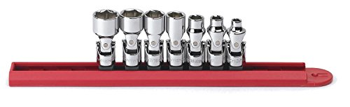 GEARWRENCH 80310 7 Piece 1/4-Inch Drive 6 Point Flex SAE Socket Set