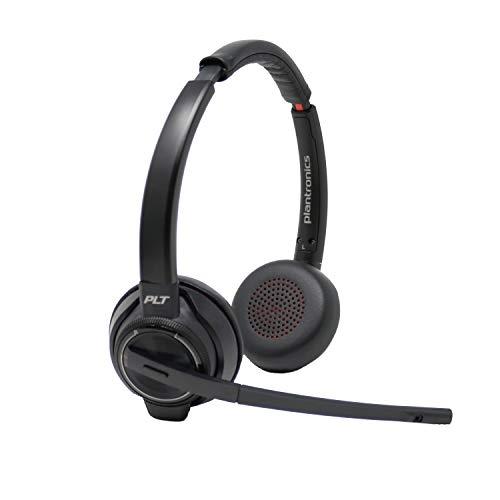 Plantronics Savi 8220 Wireless Headset System Bundle with Headset Advisor Wipe by Plantronics (Image #2)