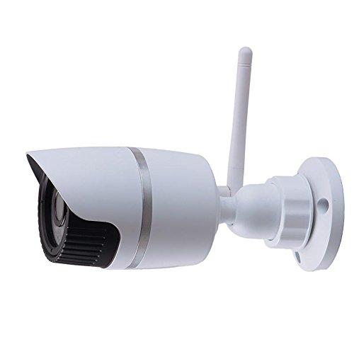 wxlaa Onvif互換性ワイヤレスHD 720p IPカメラホーム監視カメラ ブラック 955500 B01H3GJTKU  ブラック
