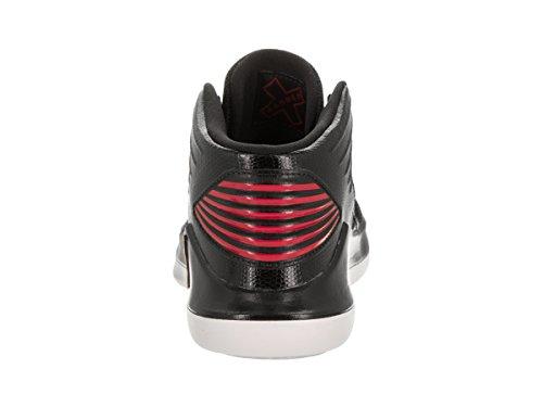 9eb424458908 Jordan Nike Kids xxxii BP Black University Red Basketball Shoe 13.5 ...