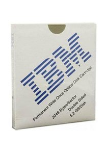 IBM 1-pack 5.25in Optical 130mm Pworm 5.2GB 8x (Discontin...