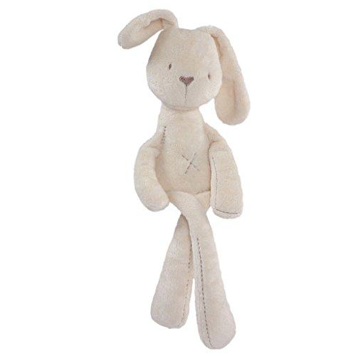 Segolike Soft Plush Toys Rabbit Stuffed Animal Toy   Beige