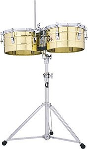 Latin Percussion LP256-B Timbal, Solid Brass by Latin Percussion