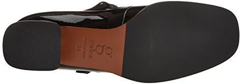 Black Negro 40804 Toe Closed Charol Women's Charol Gadea Heels Black xwYFq8EA
