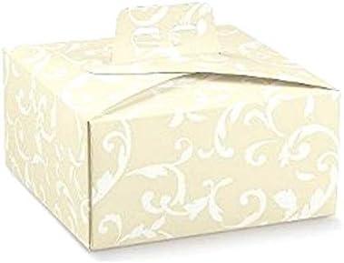 Wertheim de decoración Pastel Cajas bebäck Sombrereras 6 Cajas Box Caja: Amazon.es: Juguetes y juegos