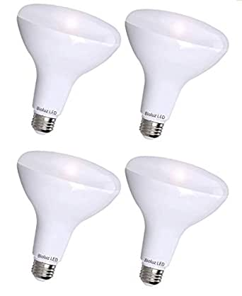 4 Pack Bioluz Led See Series Br30 Led Dimmable Bulb 65w Replacement