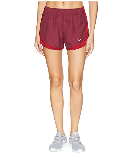 Nike Women's Dry Tempo Short Red Crush/Red Crush/Red Crush/Wolf Grey X-Small 3 by Nike (Image #5)