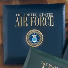 Leather Air Force Scrapbook