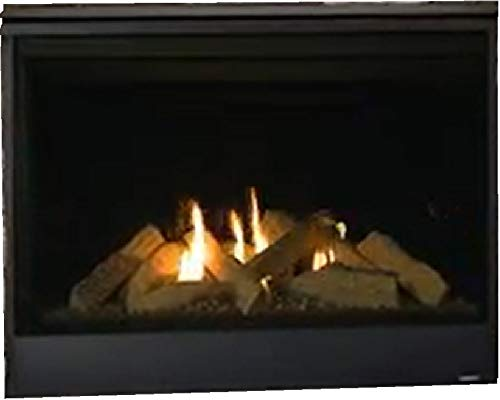 Majestic Quartz Series Direct Vent Gas Fireplace with Intellifire Ignition (42N) (Venting Gas Fireplace A)