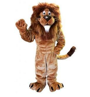 Lion Mascot Costume Character Adult Sz Real Picture