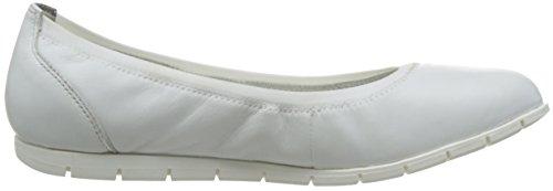 Tamaris1-1-22109-28 855 - Cerrado Mujer White Leather