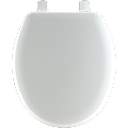 Bemis Wood Bowl (Bemis BB540000 Molded Wood Baby Bowl Toilet Seat, White)