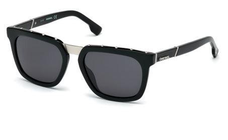 Sunglasses Diesel DL 212 DL 0212 01A shiny black / - Sunglasses Diesel Men For