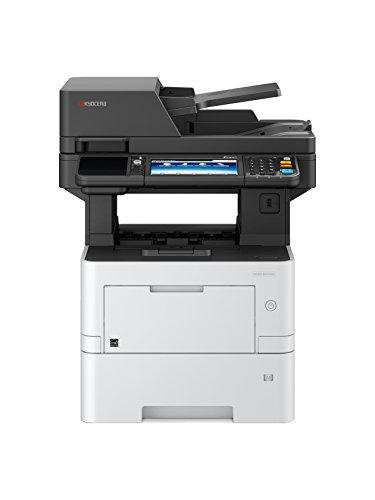 Kyocera 1102V22US0 Ecosys M3145idn B/W Multifunctional Printer, up to 47 PPM, up to Fast 1200 DPI, 150000 Pages Per Month, Mobile Printing Supported, KYOCERA Net Manager Ready