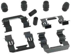 (Carlson Quality Brake Parts 13417Q Disc Brake Hardware Kit)