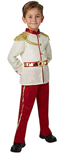 Ugoccam Boys Fairy Tales Prince Uniform Cosplay Costume White]()