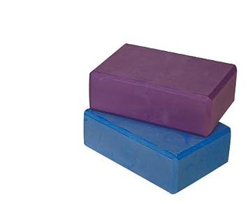 Amazon.com: Power Systems Foam Yoga Block, 9 x 6 x 4 Inches ...