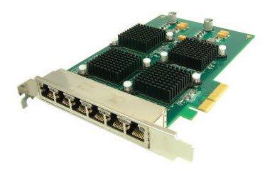 Hotlava Shasta 12G6S 6 port 1GB Intel based PCIe adapter 6C12420A2