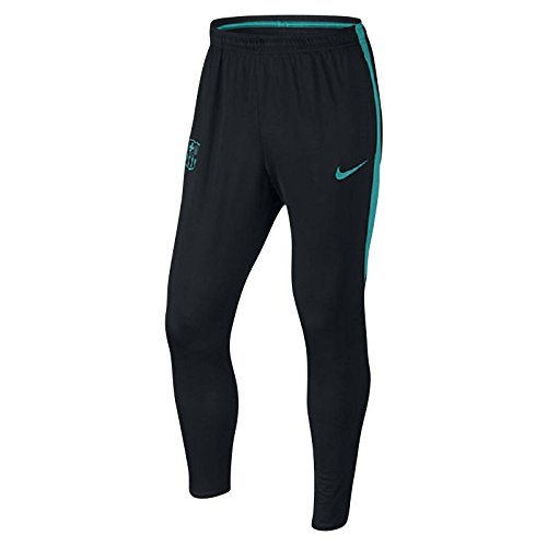 Nike Men's Barcelona Squad KPZ Soccer Pant KP 1 (Large) Black, Energy