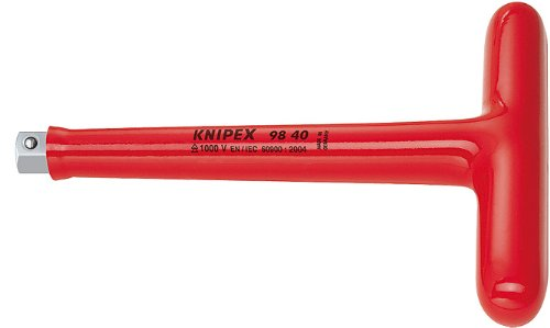KNIPEX 98 40 1,000V Insulated-1/2 T-Handle Drive