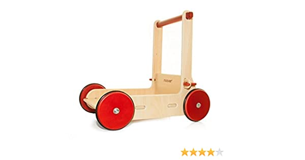 MOOVER Wooden Babywalker (Natural): Amazon.es: Bebé
