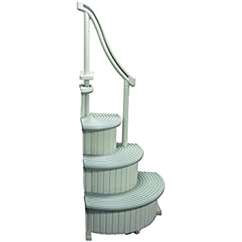 Amazon Com Blue Wave 4 X 5 Ft Deluxe In Pool Ladder And